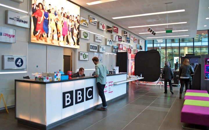 BBC tour in MediaCityUK