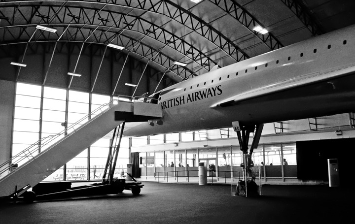 Concorde at Manchester Airport Runway Visitor Park