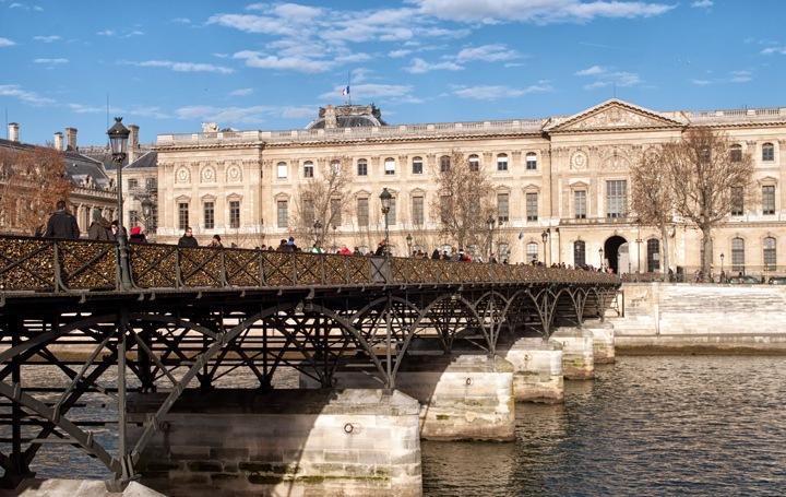 Pont des Arts bridge, Paris