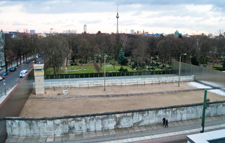 Berlin Wall Memorial at Bernauer Strasse