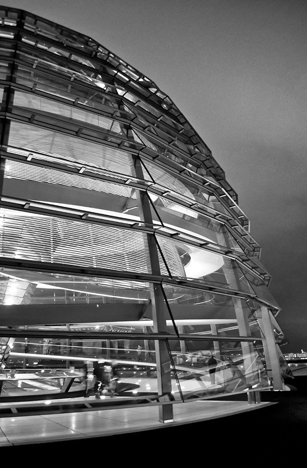 A futuristic construction of glass and mirrors that's straight out of a sci-fi film, the Reichstag dome in Berlin is one of the city's best viewpoints.
