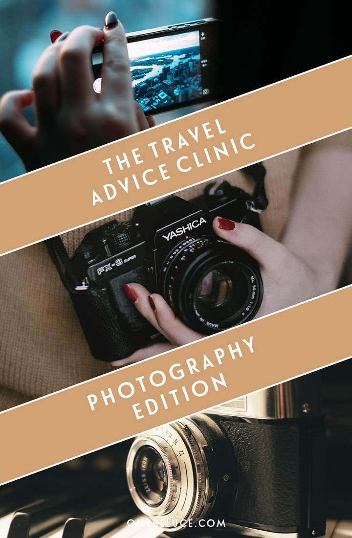 Tips and tricks for improving your travel photography – including shooting techniques, choosing a camera, photo editing and what to do with your photos.