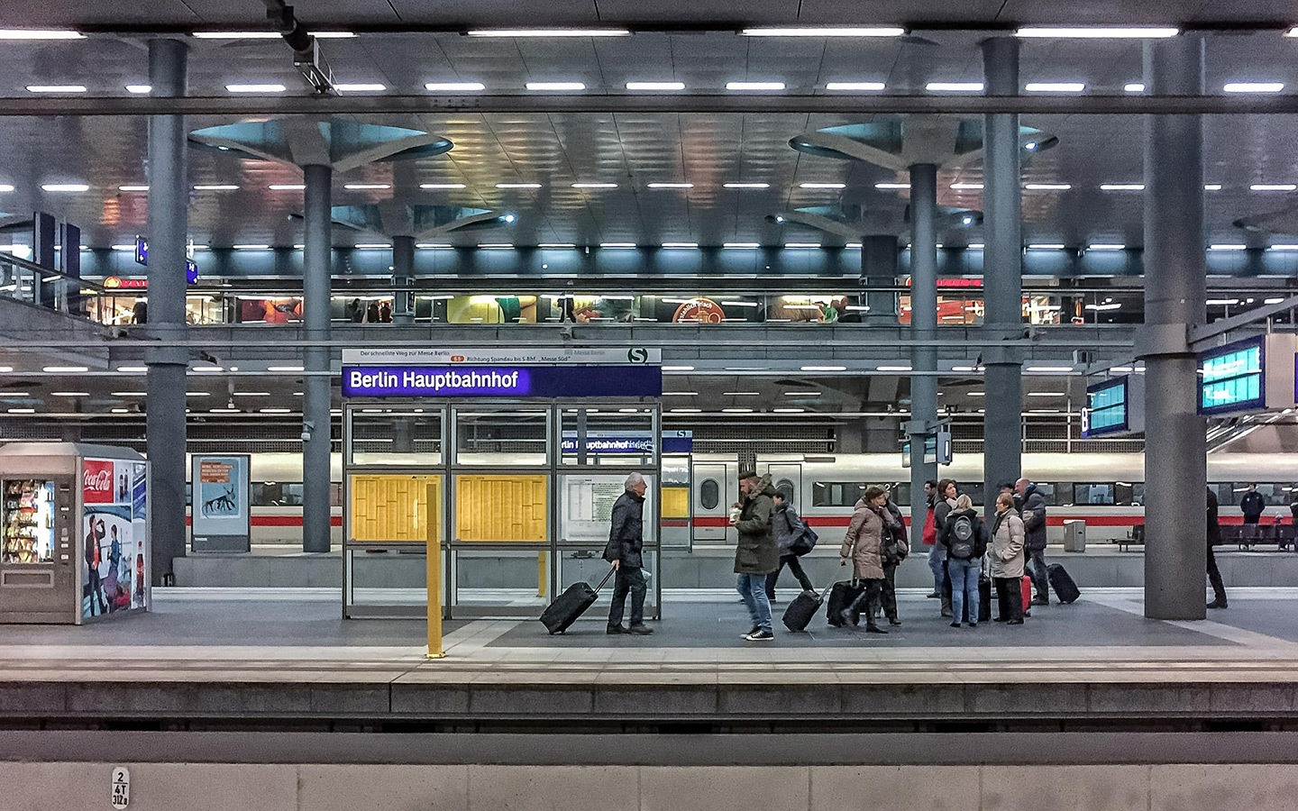 Berlin Hauptbahnhof main train station
