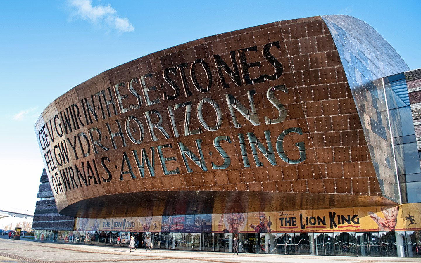 Millennium Centre in Cardiff Bay, Wales
