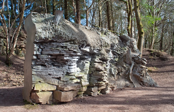Sculptures in the Forest of Dean