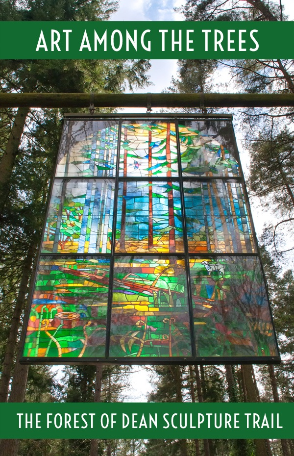 Art among the trees in the Forest of Dean Sculpture Trail – On the Luce travel blog