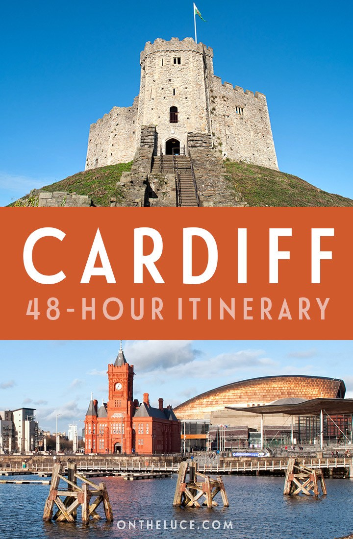 A guide to spending a weekend in Cardiff, Wales, with tips on what to see, do, eat and drink in this a 48-hour itinerary for the Welsh capital city, including the castle, museums, Cardiff Bay, restaurants and more. #Cardiff #Wales #weekend #itinerary
