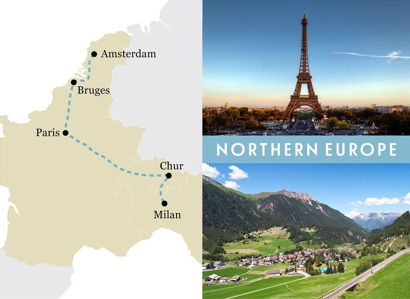Europe by train Five great one week rail trip routes – On the ...