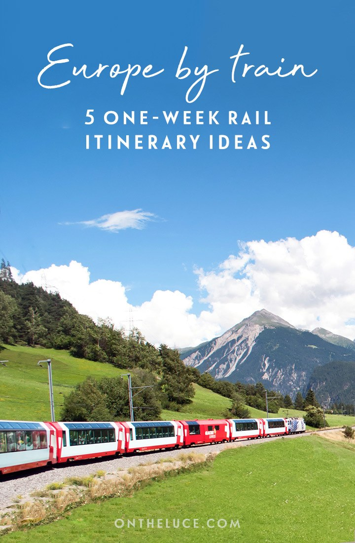 Europe by train: Five great one-week European rail trip routes | Northern Europe: Canals and chocolate | Italy: Palaces and pizza | Eastern Europe: Concerts and cake | Spain & Portugal: Paella and port | Scandinavia: Fjords and funiculars #Europe #railtravel #train