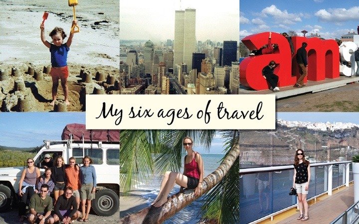 My six ages of travel