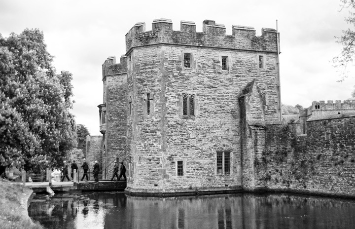 The Bishop's Palace, Wells, Somserset