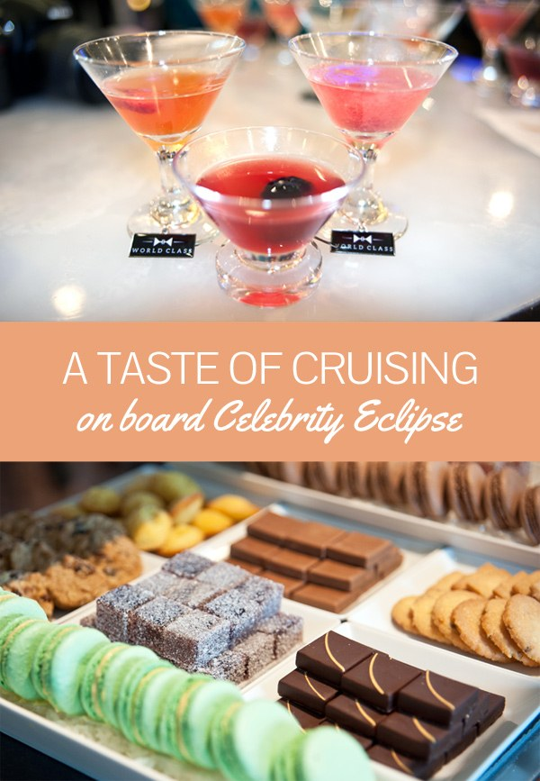 A taste of cruising on board Celebrity Eclipse