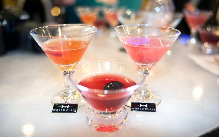 Cocktails on board Celebrity Eclipse