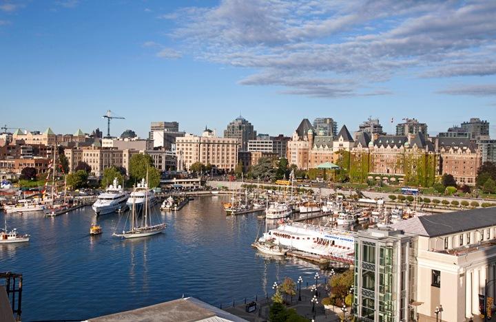 Victoria harbour, Canada