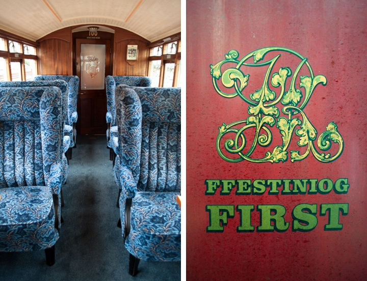 First-class on the Ffestiniog Railway