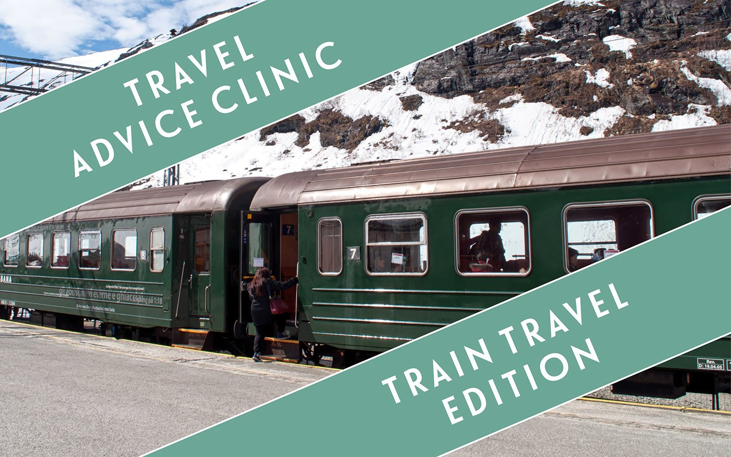 The travel clinic: Train travel edition