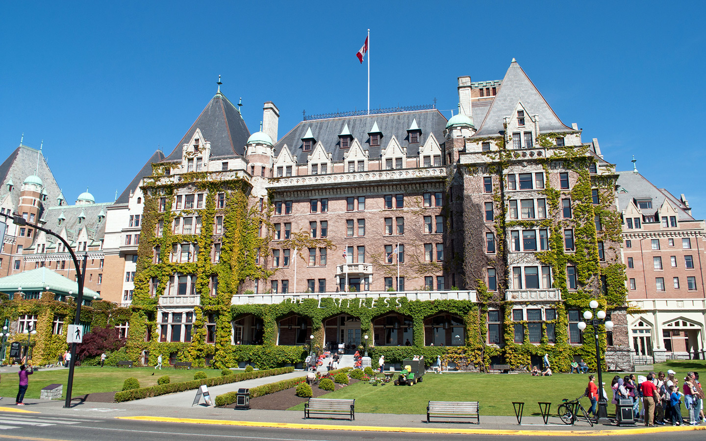 Fairmont Empress hotel in Victoria, British Columbia
