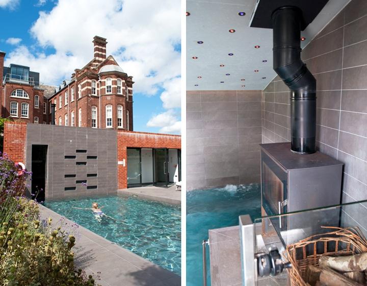 Hotel du Vin Exeter swimming pool
