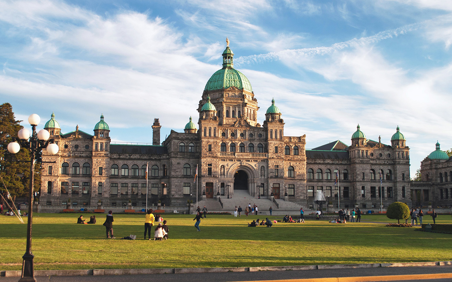 Legislative Building in Victoria, British Columbia, Canada