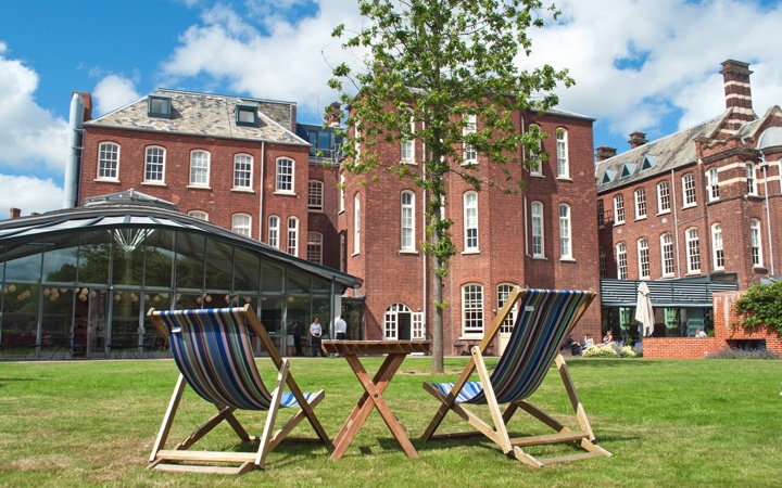A luxury stay in the Hotel du Vin in Exeter in Devon, where a historic former 19th-century eye hospital has been converted into a boutique hotel with indoor-outdoor pool.