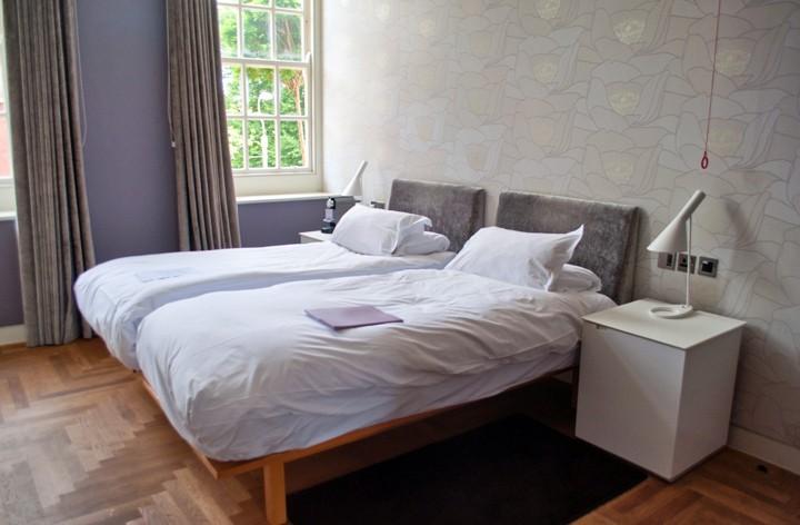 Bedroom at the Hotel du Vin Exeter