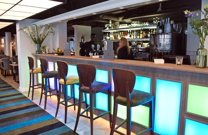 Bar at Absalon Hotel in Copenhagen