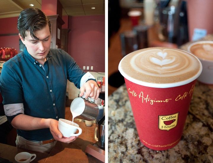 Caffè Artigiano, Vancouver BC