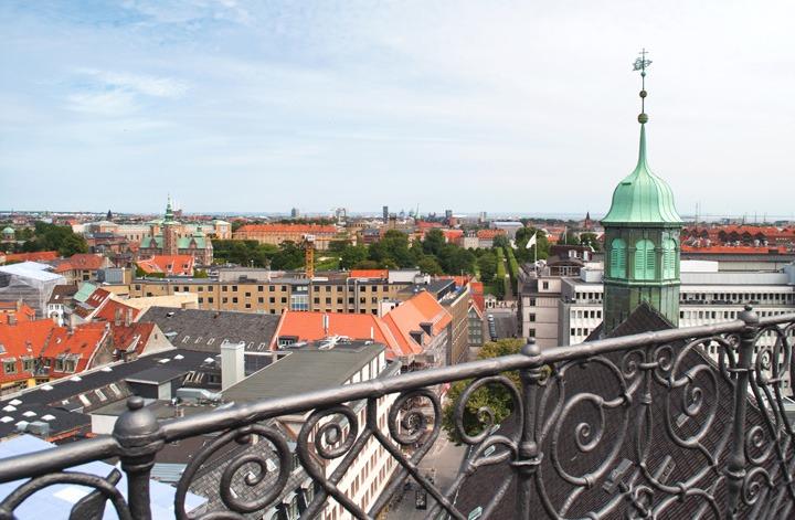 Rundetarn Tower views Copenhagen