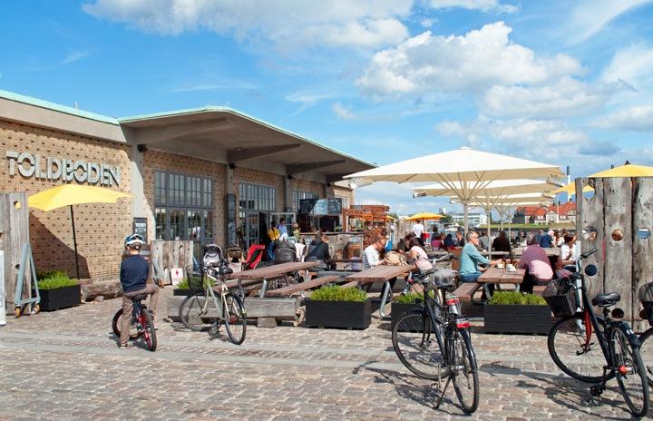 Toldboden waterfront bar, Copenhagen