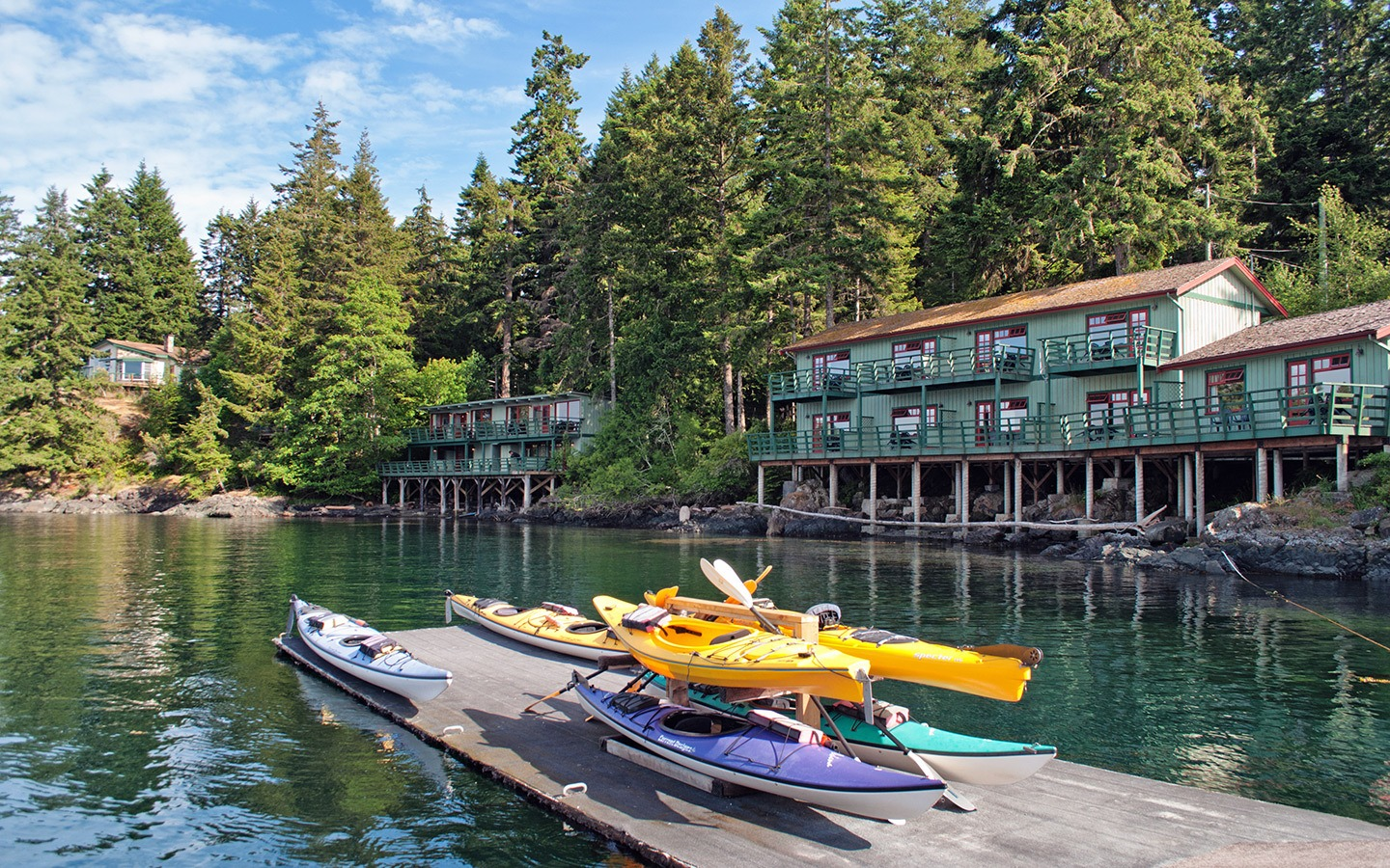April Point Resort on Quadra Island
