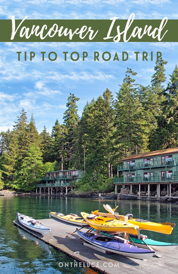 A Canadian road trip across Vancouver Island – from the tip of the island to the top, with wineries, waterfalls and whales along the way.