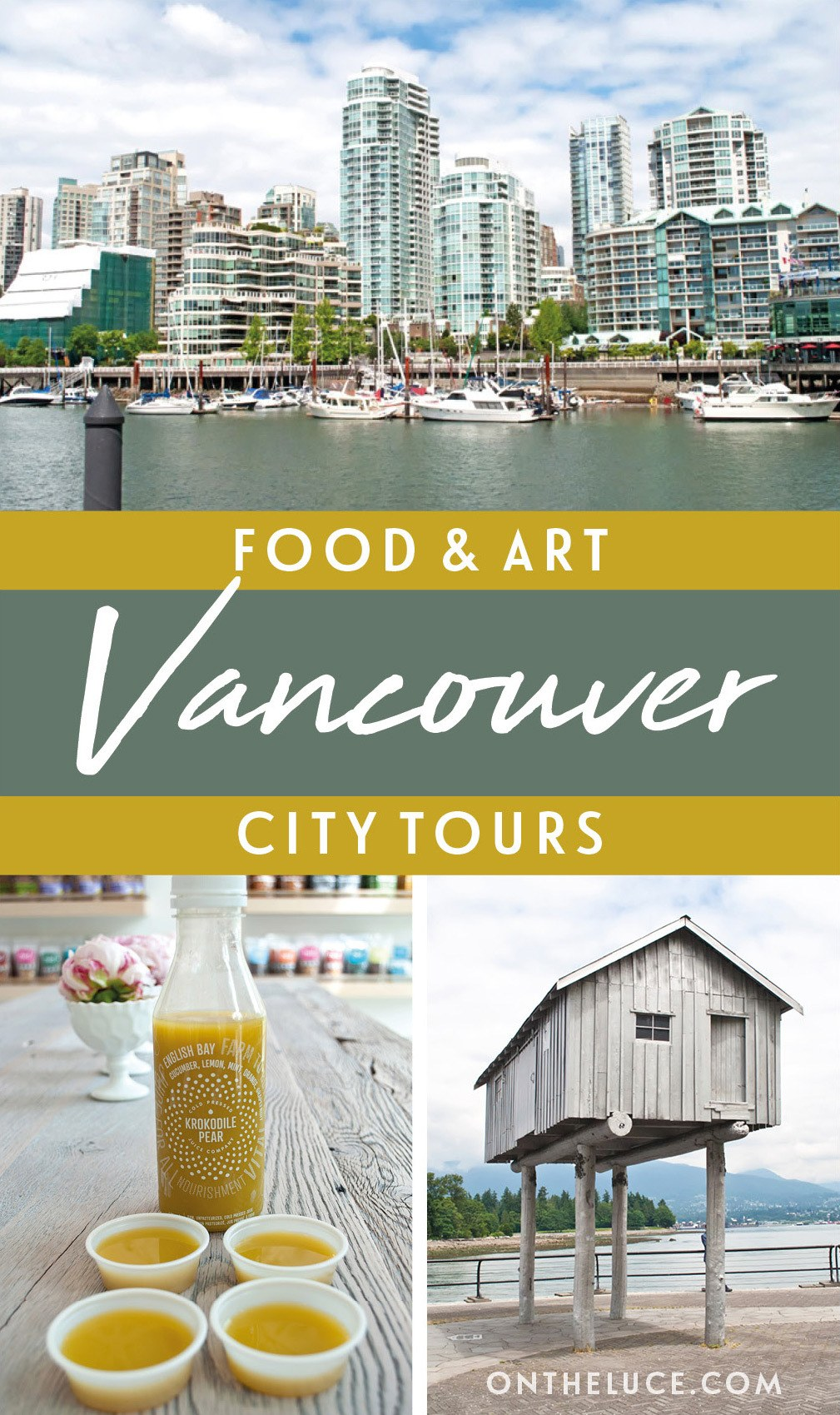 Discovering Vancouver, Canada, with an exploration of two sides of the city – its diverse food scene and its public art projects – on foot and by bike. #Vancouver #Canada