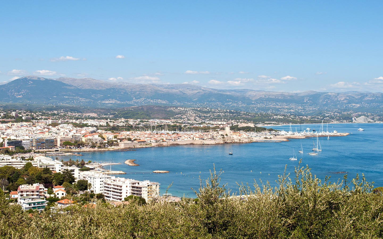 Views from Notre-Dame-de-la-Garoupe, Antibes, France