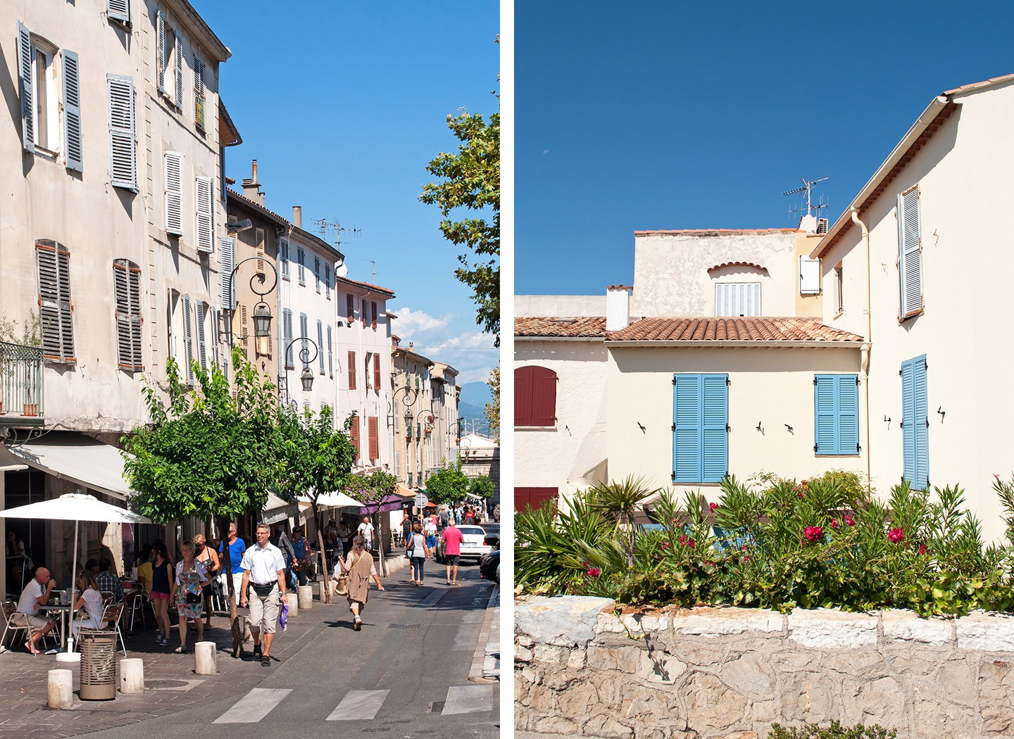 Vieil Antibes – Antibes old town in the South of France