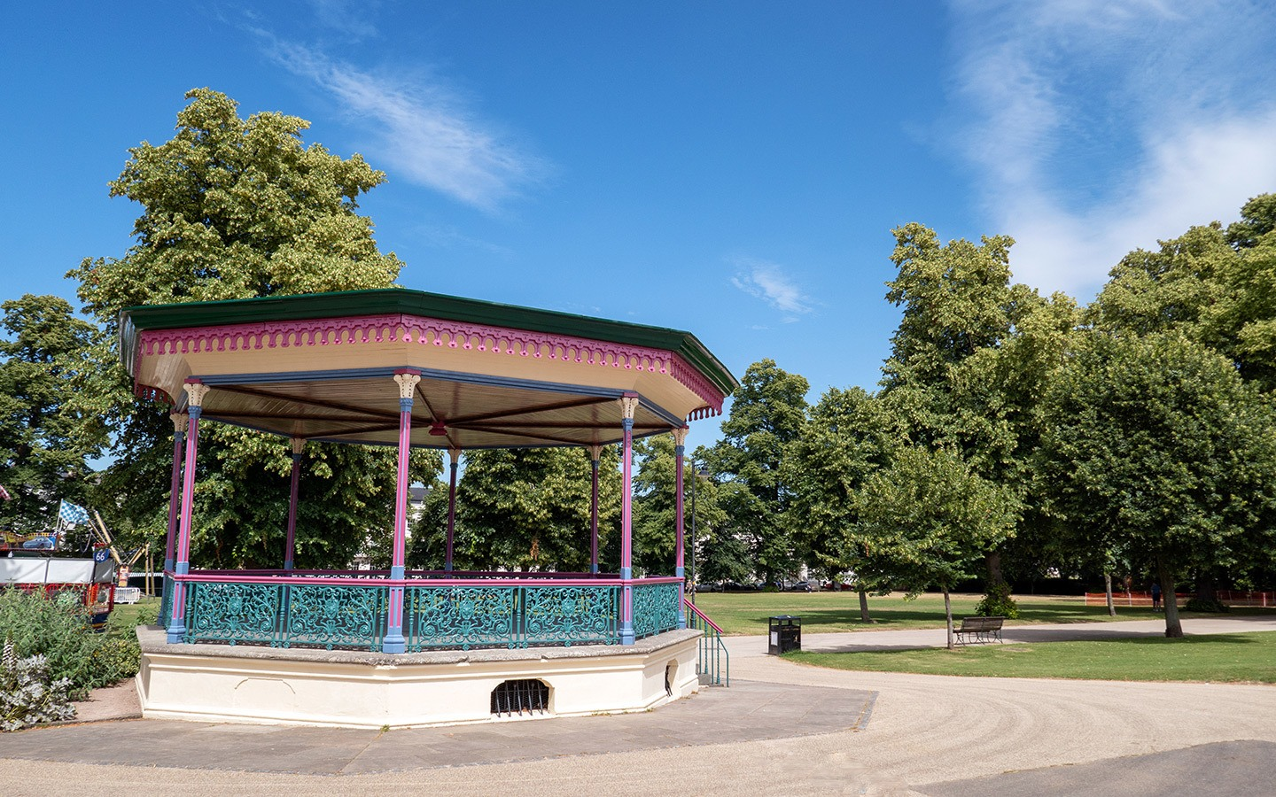 The bandstand in Montpellier Gardens, Cheltenham