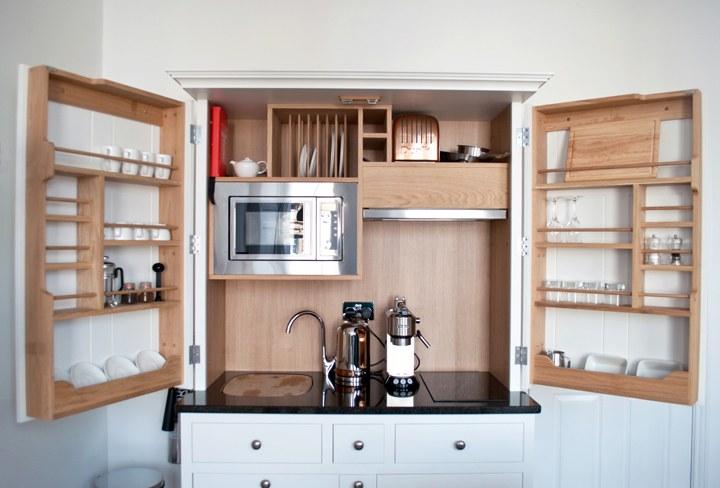 Berkeley Suites kitchen