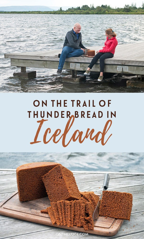 Discovering Icelandic specialty Thunder Bread or Rúgbrauð – a sweet rye bread that's cooked underground using geothermal power in Iceland (just watch out for the thunder!). #Iceland #ThunderBread