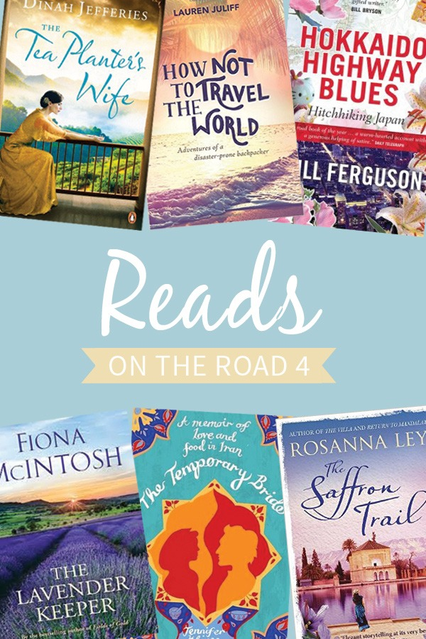 Reads on the Road 4 travel book recommendations – On the Luce travel blog