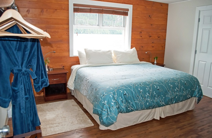 Bedroom at Great Bear Lodge