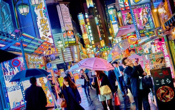 Tokyo bright lights