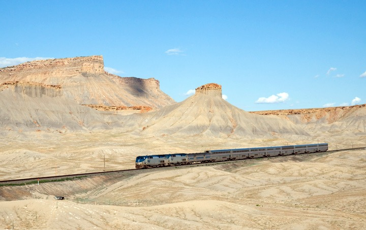 California Zephyr train, USA