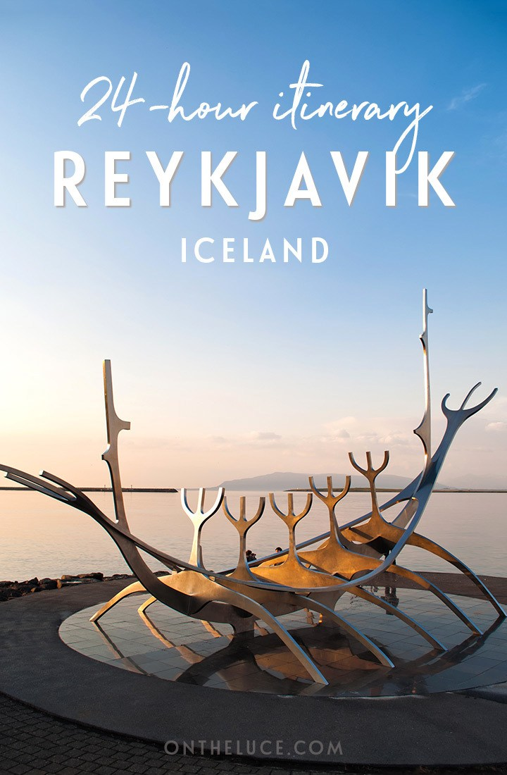 One day in Reykjavik, Iceland: A 24-hour itinerary for a Reykjavik city break #Reykjavik #Iceland #itinerary #stopover