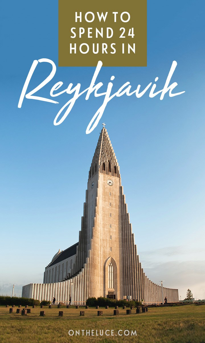 How to spend one day in Reykjavik, Iceland: a 24-hour Reykjavik itinerary featuring quirky design, modern architecture, street art, seafood and shopping. #Reykjavik #Iceland #itinerary #stopover