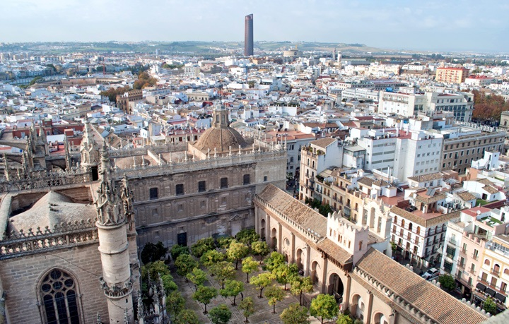 Seville Cathedral views, Spain