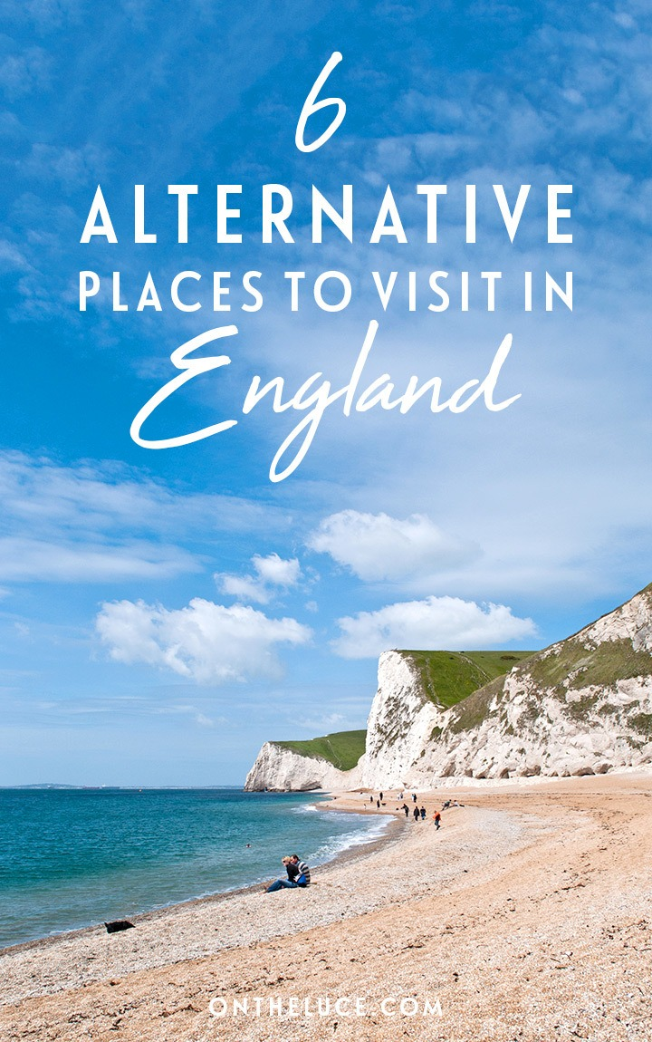 Exploring England off the beaten track: six alternatives to the country's most popular destinations, including Durham, Dorset, Chester, Cheltenham, Peak District and Margate. #England #alternative