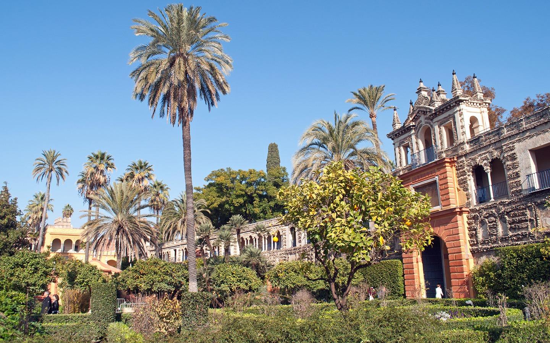 Gardens at the Real Alcazar, Seville