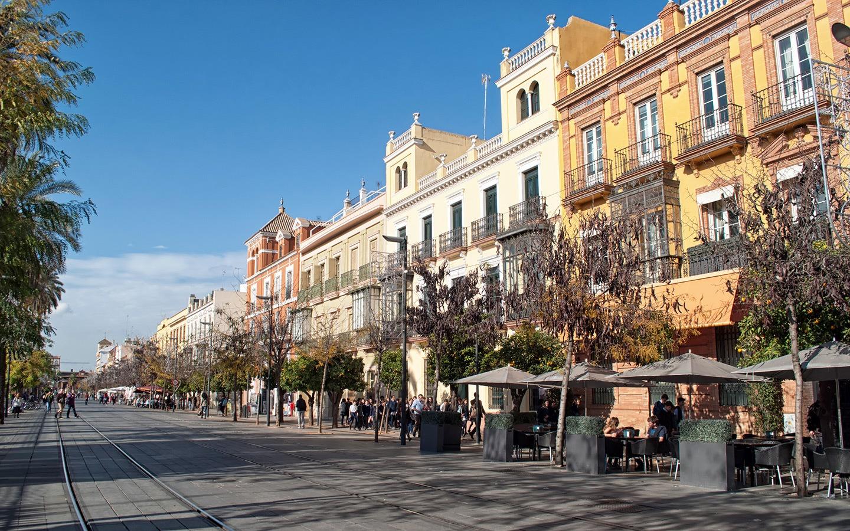 Streets in Seville, Spain