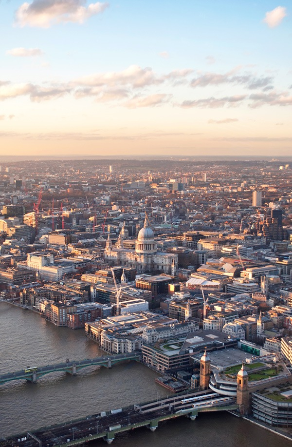 Sunset from the Shard, London – On the Luce travel blog