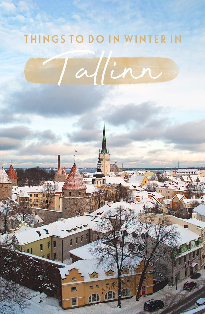 Things to do in Tallinn in winter, when this Estonian city's medieval houses and Gothic churches are given a touch of magic by a covering of snow. #Tallinn #Estonia #winter