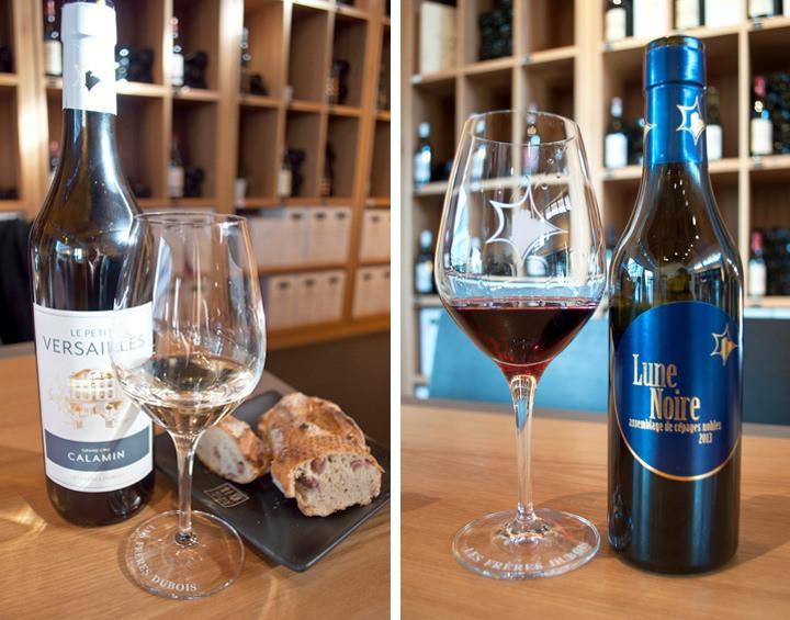 Wine tasting at Les Frères Dubois